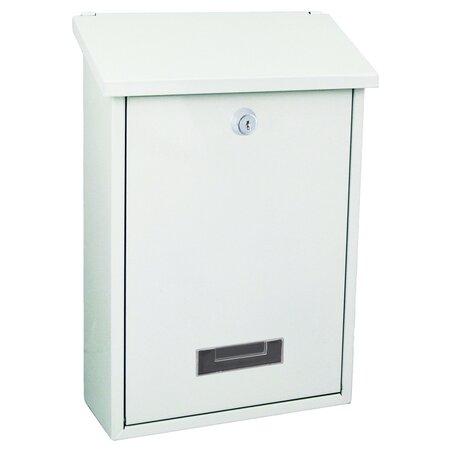 Poštovní ocelová schránka Vigo, bílá