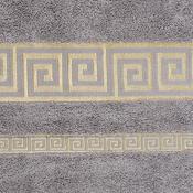 Ručník Atény šedá, 50 x 90 cm