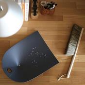 Lopatka a smetáček Dustpan & Broom, tmavě šedá