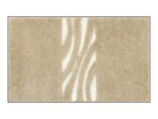 Koupelnová předložka Grund THUNI, béžová, 60 x 90 cm