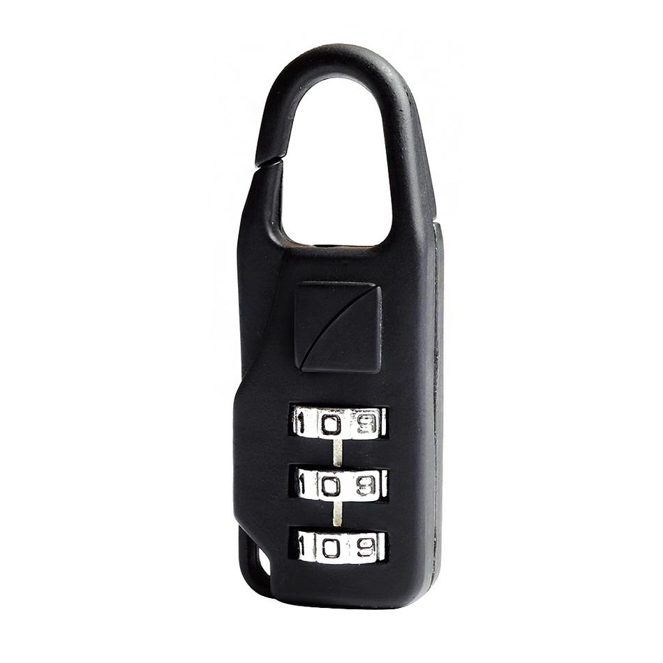 Travel Blue Bezpečnostní cestovní zámek na zavazadla kovový bez klíčů na kombinaci TB034
