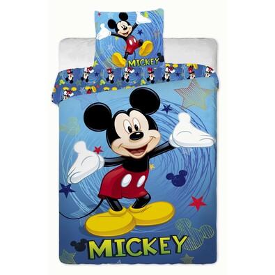 Dětské bavlněné povlečení Mickey Blue, 140 x 200 cm, 70 x 90 cm