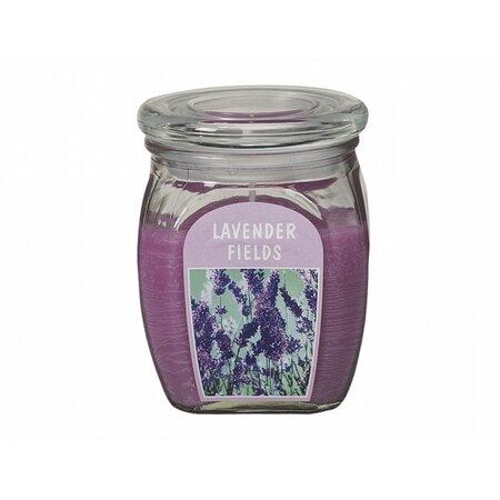 Gyertya üvegben Levendula, 430 g