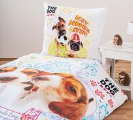 Dětské bavlněné povlečení The Dog, 140 x 200 cm, 70 x 80 cm