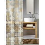 Kleine Wolke sprchový závěs vinylový Koule béžová, 180 x 200 cm