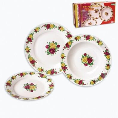 Porcelánová jídelní souprava Dara 18 ks
