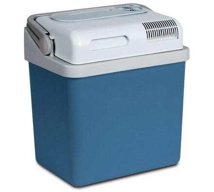 Dobíjecí cestovní lednička, SCM 2025, Sencor, bílá + modrá