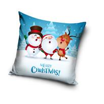 """Poszewka świąteczna na poduszkę """"Merry Christmas"""", 40 x 40 cm"""