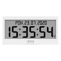 Lavvu LCX0010 digitální hodiny řízené rádiovým signálem Modig, bílá
