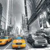 Fototapeta taxi v New Yorku 254 x 360 cm
