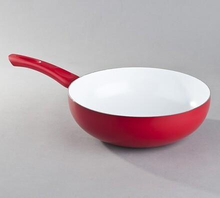 Pánev WOK Red Culinaria, 28 cm, Banquet