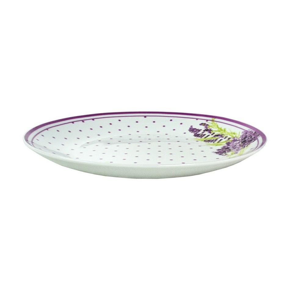 Lawenda plytký tanier,