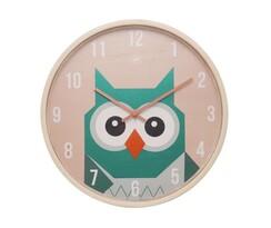 Karlsson JIP0904 dětské nástěnné hodiny se sovou