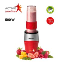 Concept SM3382 smoothie maker Active Smoothie500 W červená 1 x 570 ml