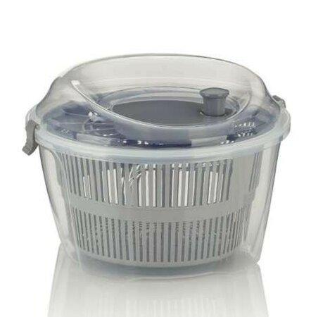 KELA Odstředivka na salát MAILIN plast šedá KL-11907