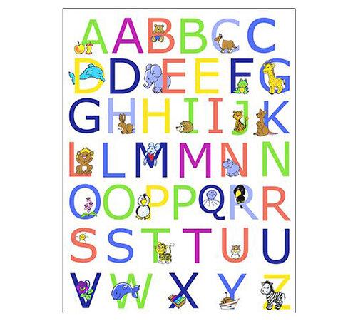 Samolepící dekorace abeceda