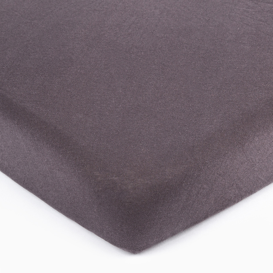 4Home jersey prostěradlo tmavě šedá, 160 x 200 cm