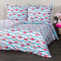 4Home Bavlnené obliečky Flamingo