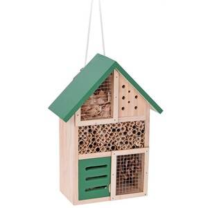 Domeček pro hmyz, zelený
