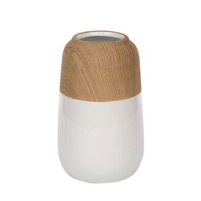 Altom Porcelánová váza Wood, 12,5 x 19,5 cm
