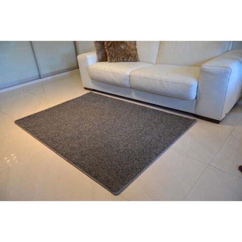 Kusový koberec Color shaggy sivá, 60 x 110 cm