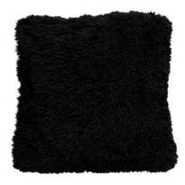 Domarex Obliečka na vankúšik Muss čierna, 40 x 40 cm