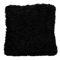 Față de pernă Domarex Muss, negru, 40 x 40 cm