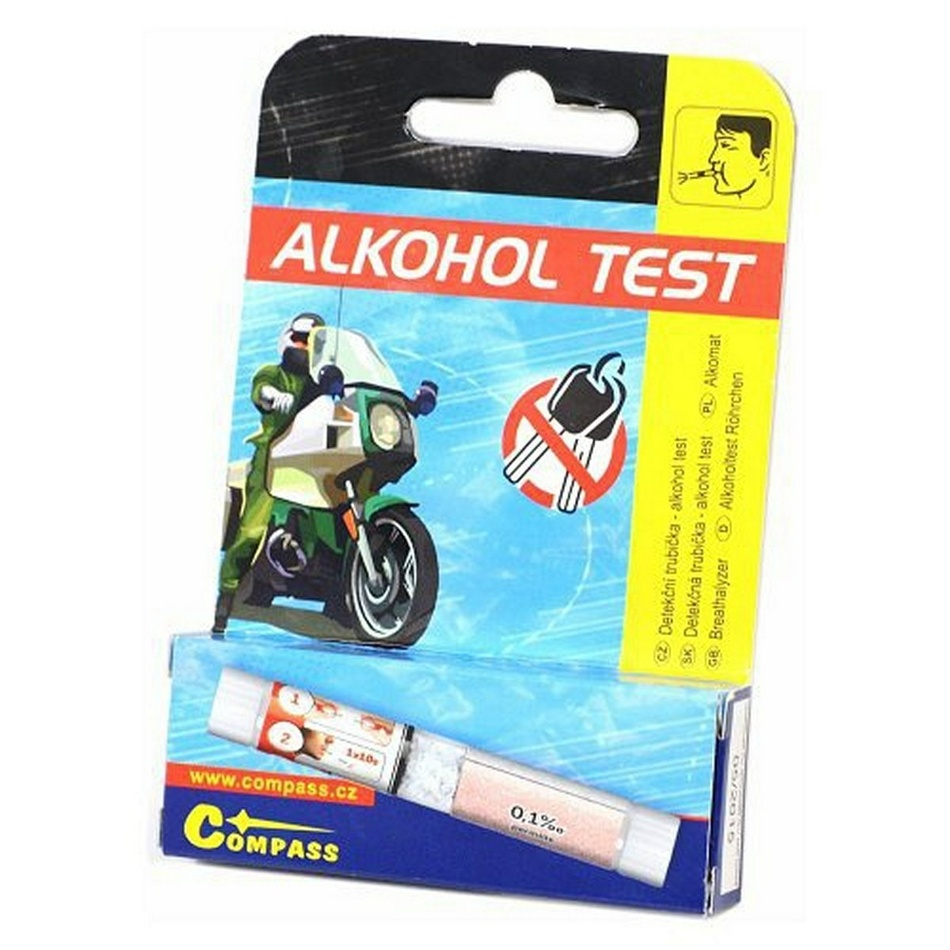 Alkohol test detekčná trubička 1 ks