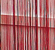 Provázková záclona Aga, tmavě červená, 90 x 180 cm
