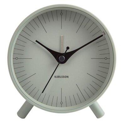 Karlsson 5777GR dizájner ébresztőóra, 12 cm