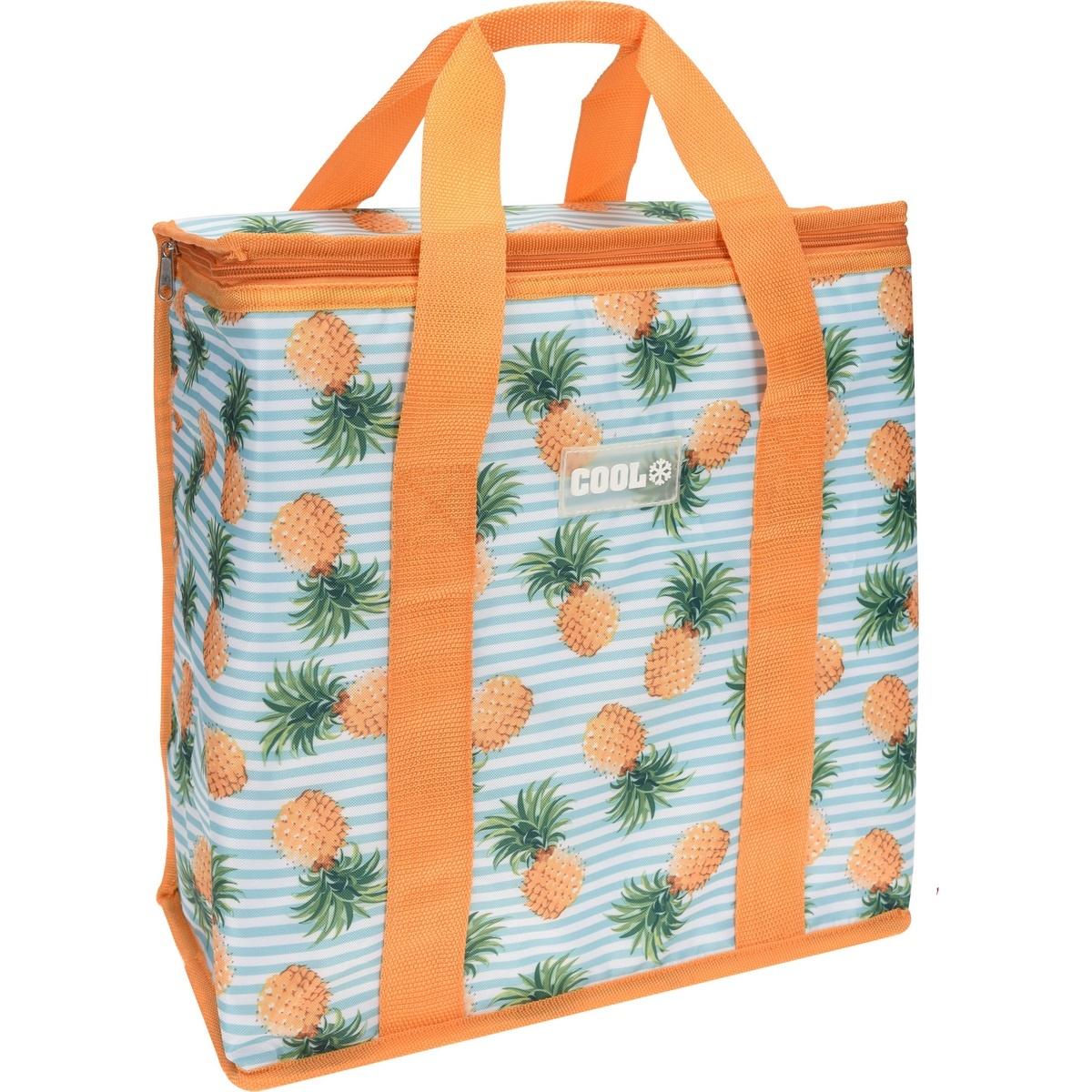 Koopman Chladici taška Fruity oranžová, 34 x 16,5 x 36 cm