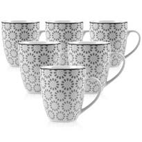 Mäser ORNATE porcelánbögre készlet, 6 db-os