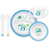 Bayby BFS 6501 dziecięcy zestaw jedzeniowy, niebieski