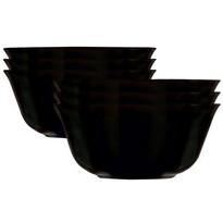 Set boluri Mäser  Carine 12 cm, 6 buc., negru