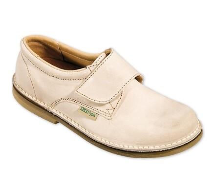 Orto Plus Dámská obuv vycházková na suchý zip vel. 42 bílá
