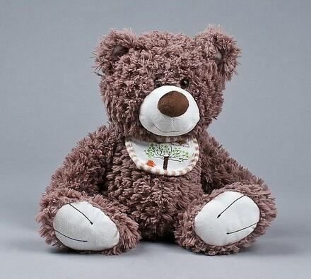 Medvídek s bryndáčkem