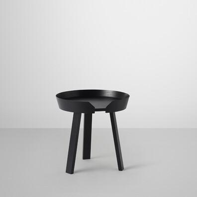 Konferenční stolek Around malý, černý
