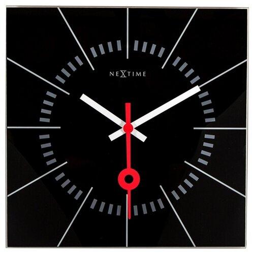 Nextime Stazione 8636zw nástenné hodiny