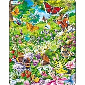 Larsen Puzzle Motýli, 42 dílků