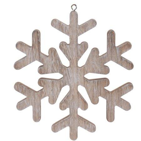 Vánoční závěsná dekorace Pienza hnědá, 19 cm