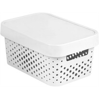 Curver Infinity tároló doboz 4,5 l, fehér