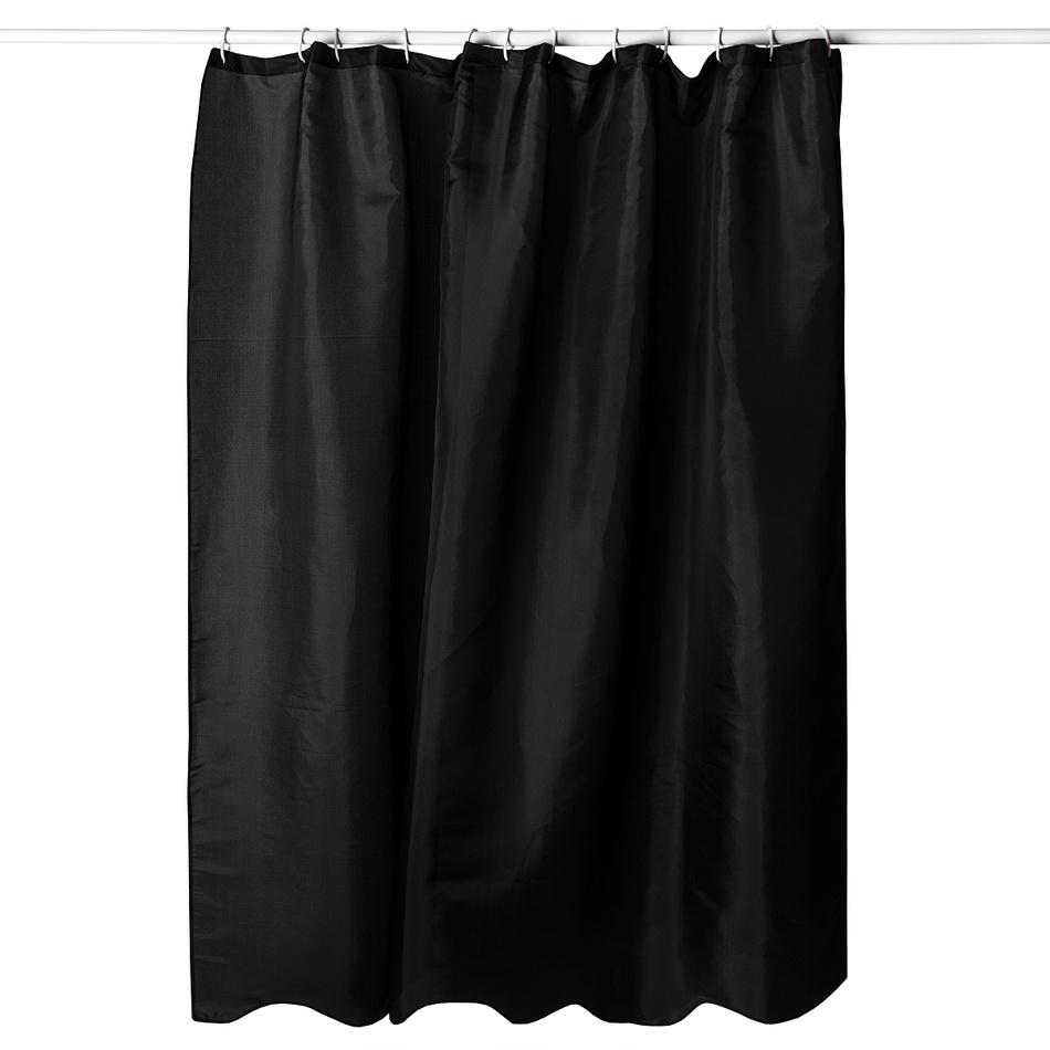 Koopman Sprchový závěs černá, 180 x 180 cm