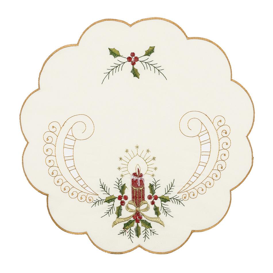 Vianočné prestieranie Cezmína, pr. 35 cm