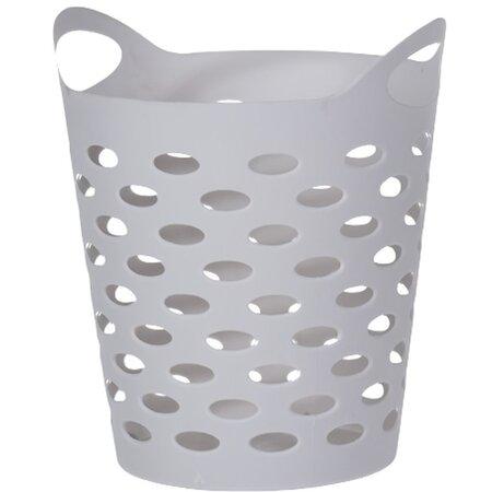 Műanyag doboz apró holmikhoz, szürke, 13,5 cm