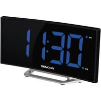 Sencor SDC 120 Zegar z budzikiem, czarny