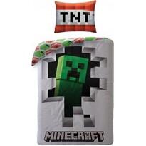 Bavlnené obliečky Minecraft 107, 140 x 200 cm, 70 x 90 cm