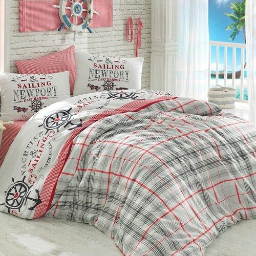 Bedtex povlečení bavlna Jachting, 220 x 200 cm, 2 ks 70 x 90 cm