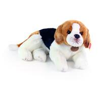 Câine beagle Rappa, din pluș, 38 cm