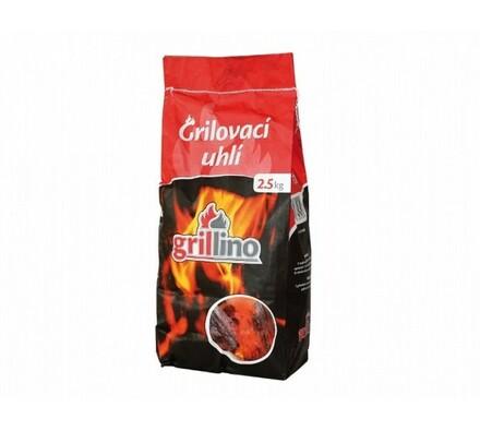 Dřevěné uhlí Grillino, 2,5 kg