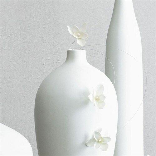 ASA Selection dekorace orchidej na drátku 12 ks bílá